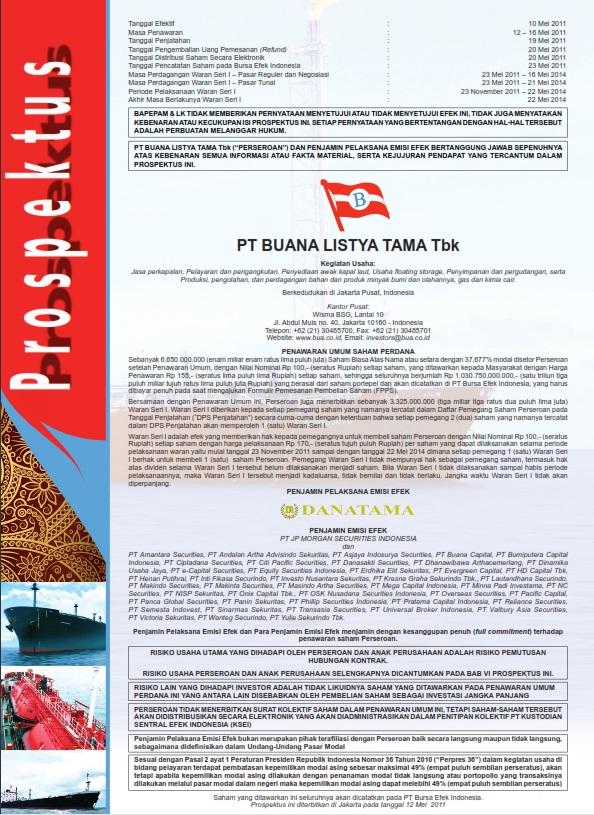BULL INITIAL PUBLIC OFFERING PROSPECTUS